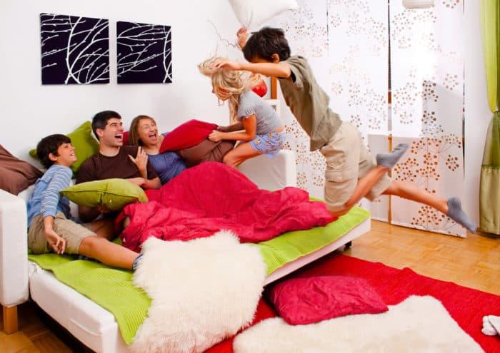 5 Juegos Divertidos Para Compartir En Familia Familias