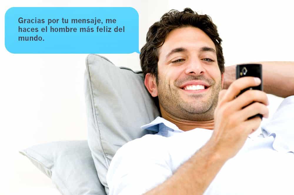 27 Mensajes De Textos Que él Se Muere Por Recibir De Ti Cien Por Ciento Garantido Familias