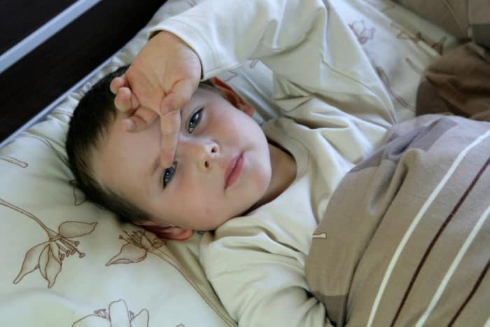 Hemorragia nasal después de golpearse la cabeza