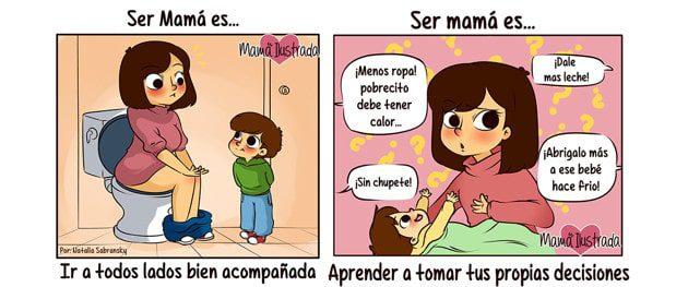 """""""Ser mamá es…"""" Las comitragedias por las que la maternidad nos hace pasar"""